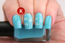 turquoise comic style nails 40 great nail art ideas kerruticles