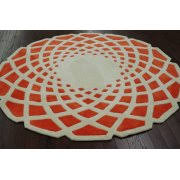 Round Red Rug Round Area Rugs