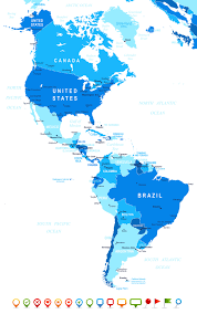 El Salvador On World Map by Map South America
