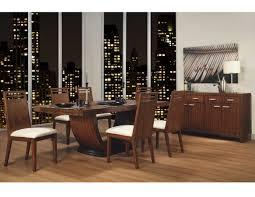 homelegance zebrano pedestal dining table 1369 84