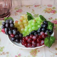 Grapes Home Decor Plastic Home Decorative Grapes Ebay