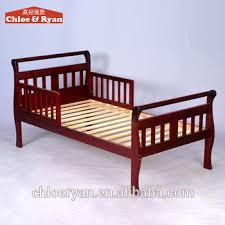 new design baby pine wood cot bed cheap unique baby toddler beds