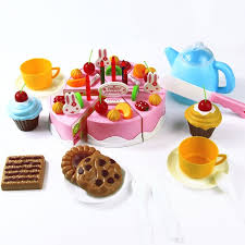 jeux de simulation de cuisine 54 pcs diy d anniversaire de coupe gâteau 5 5 pouces jeux de