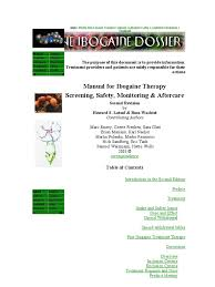 ibogaine treatment manual by howard lotsof and boaz wachtel