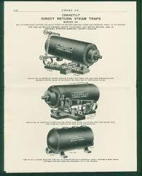 1910 crane company brochure crane direct return steam traps