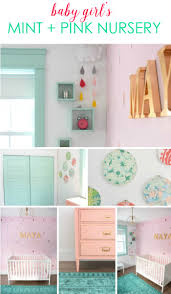 how to use ikea spice racks for books or the easiest diy wall looking for diy nursery ideas this mint and pink