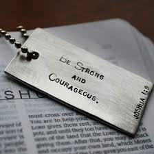 catholic gifts and more joshua 1 9 scripture dog tag for confirmation