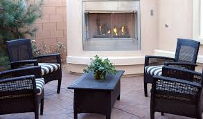 how to choose an outdoor fireplace homeclick