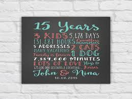 2 year anniversary gift ideas wedding anniversary gifts paper canvas 15 year anniversary 2