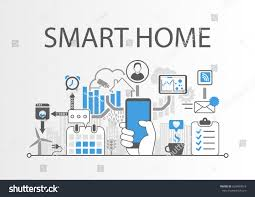 Home Automation by Smart Home Automation Infographic Vector Illustration Stock Vector