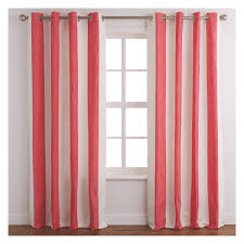 Red White And Blue Home Decor by Decor Red White Stripes Navy Tab Curtains For Modern Living Room
