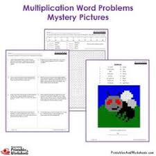 3rd grade multiplication word problems coloring worksheets