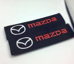 mazda 3 logo 2017 seat belt cover car styling for mazda mazda 2 mazda 3 mazda 6