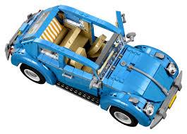 lego volkswagen inside the u002760s volkswagen beetle is now a brickified lego car