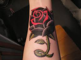 black rose tattoo on neck photo 2 photo pictures and