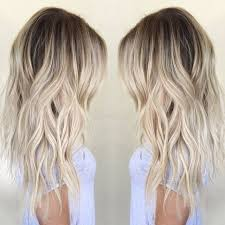 cute shoulder length haircuts longer in front and shorter in back best 25 medium length hair blonde ideas on pinterest medium