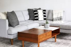 Rooms To Go Coffee Tables by Style Edit Pillow Styling 101 U2013 The Citizenry