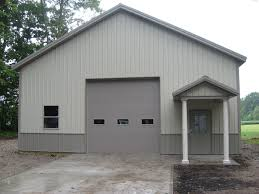 Pictures Pole Barns Beautiful Two Tone Pole Building Slabaugh Barns
