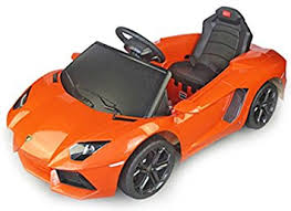 lamborghini children s car rastar lamborghini aventador electric 6v rechargable battery