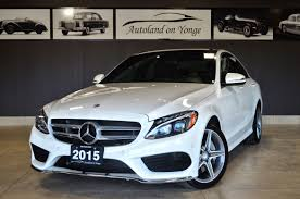 nissan canada yonge and steeles used 2015 mercedes benz c class for sale thornhill on