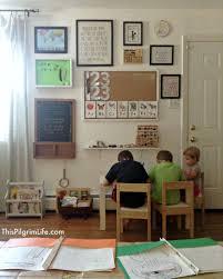 a return to routine u0026 our new homeschool nook homeschool room