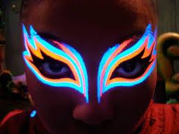 glow in the makeup best 25 uv makeup ideas on black light makeup neon