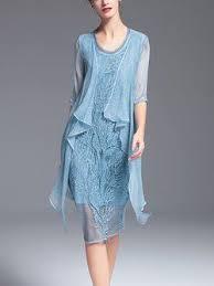 light blue silk dress light blue silk asymmetrical simple midi dress stitchbitch