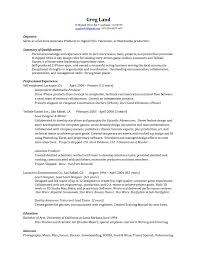 associate producer cover letter production cover letter examples