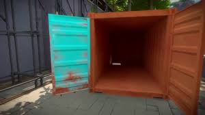 the witness cargo container puzzle solution youtube