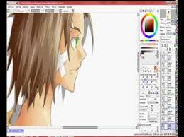 3º tutorial paint tool sai color manga semirrealista papel