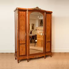 Armoire Ashley French Antique Armoire With Mirrored Center Panel Bonnin Ashley