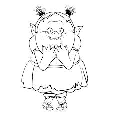 Coloriage Les Trolls  Coloriages pour enfants