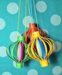 fancy paper lanterns things to make and do crafts and