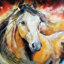 Equine Home Decor by Online Get Cheap Abstract Horse Art Aliexpress Com Alibaba Group