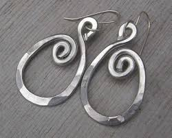 aluminum earrings 35 best our big aluminum earrings images on ear studs