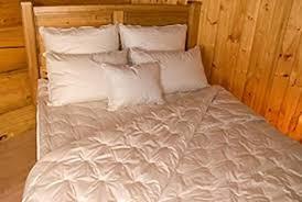 Woolen Duvet Crescent Moon Alpaca Wool Duvet Comforter With Organic Cotton