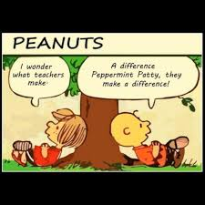 Make A Comic Meme - teachers do make a difference love this peanuts comic