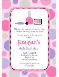 spa party invitations u2013 gangcraft net