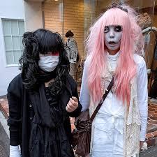 Girls Gothic Halloween Costumes Harajuku Horror Halloween Goth Girls Express