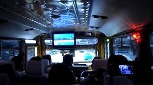 philippines jeepney inside videoke inside the jeepney tours ride youtube
