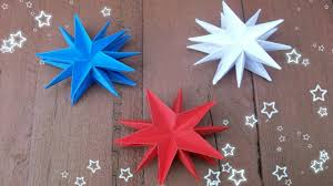 4th of july craft ideas easy paper stars party decorations home