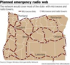 Lakeview Oregon Map by Oregon Lawmakers Misled About Cost Progress Of Emergency Radio