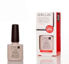 cnd shellac uv nail polish u2013 romantique 7 3ml nail stars