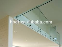 Banister Glass Glass Stair Railing Cost Glass Stair Railing Cost Suppliers And