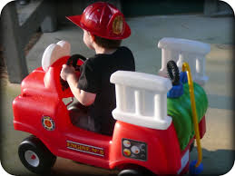 step into summer with the spray u0026 rescue fire truck by little