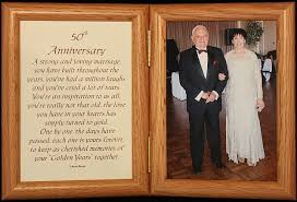 50th wedding anniversary poems popular golden anniversary gift ideas for couples in usa