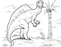 ouranosaurus dinosaur coloring free printable coloring pages
