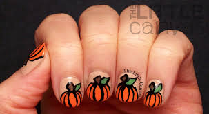 nail art pumpkin images nail art designs