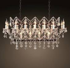 Rustic Chandeliers With Crystals Rustic Chandeliers Mixed Chandeliers Rustic
