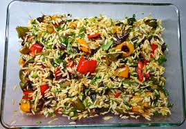 cooking the books orzo with roasted vegetables lovebites
